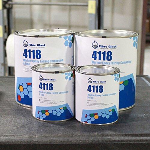 Fibre Glast Marine Epoxy Fairing Compound - Gallon Kit by Fibre Glast