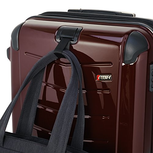 Ricardo Beverly Hills Luggage Rodeo Drive 29-Inch 4-Wheel Expandable Upright, Black Cherry, One Size by Ricardo Beverly Hills (Image #8)