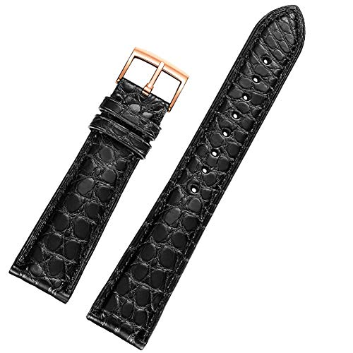 Leather Calfskin Metallic (WANGKM Watch Strap - Male Leather pin Buckle - Quick Release, Waterproof, Durable -12mm 13mm 14mm 15mm 16mm 17mm 18mm 19mm 20mm 21mm 22mm 23mm 24mm,a,22mm)