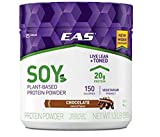 EAS Soy Protein Powder, Chocolate 1.3 Pound Wide Tub (Pack of 3)