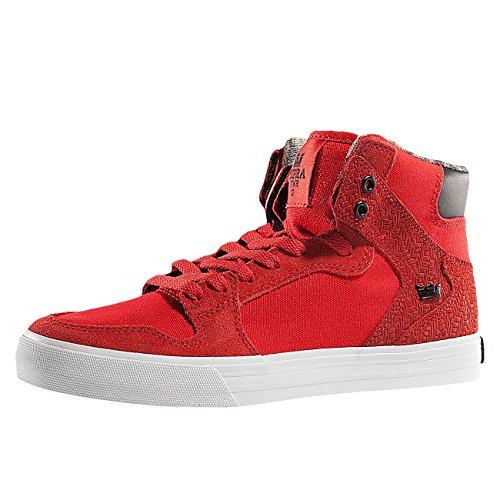 Supra Vaider - Zapatillas Hombre Rojo