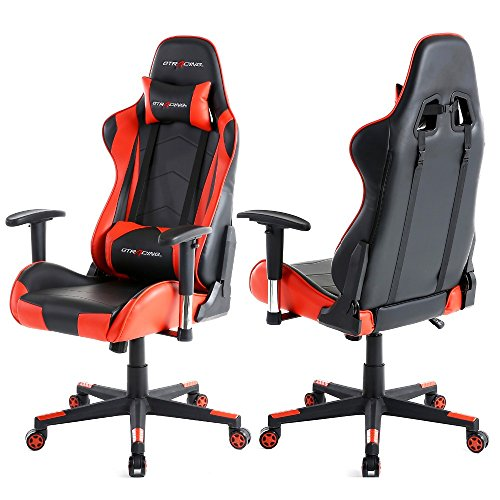 Gaming Seats - GT Omega PRO Racing Office Chair Black Next