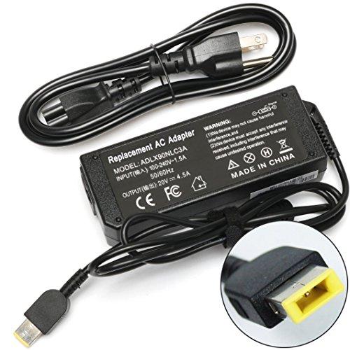 EBK 90W 20V 4.5A Laptop AC Power Adapter Charger ADLX90NLC3A for Lenovo ThinkPad L440 L450 L540 T431s T440 T440s T450 T450s,Lenovo Y40, Z40, Z41, Z50, Z51, Z70, Y40-70, Y40-80 with power cord by EBK