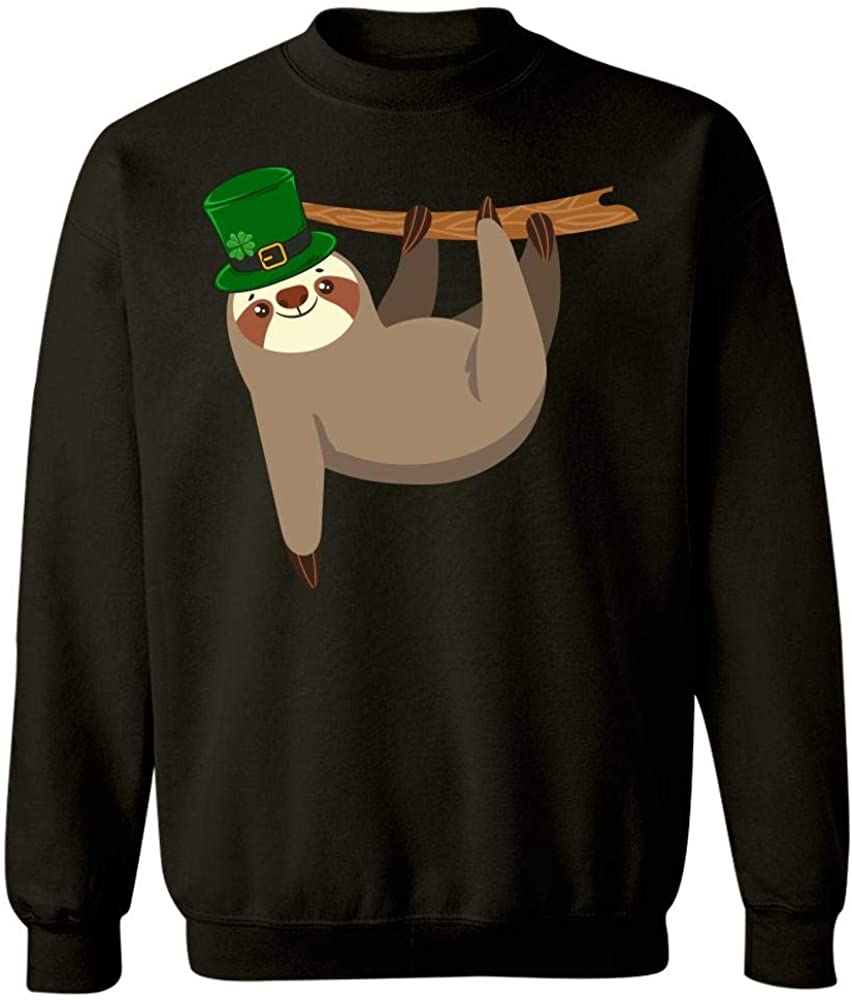 Sweatshirt Sloth st Patricks hat 4