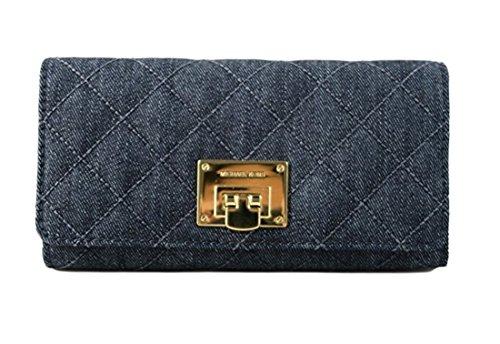 Michael Kors Astrid DK Denim Carryall Clutch Wallet by Michael Kors