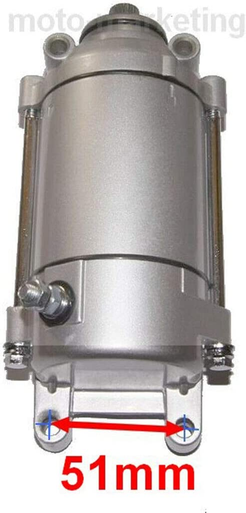 Unbranded NEW STARTER MOTOR compatible with SMC RAM BAROSSA CHEETAH SACHS REX QUAD ATV 250 cc