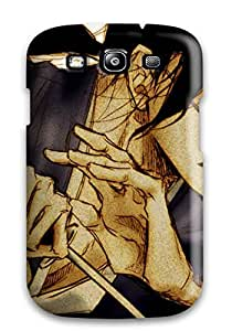 Best 6038581K49237007 Case Cover Protector Specially Made For Galaxy S3 Samurai Champloo