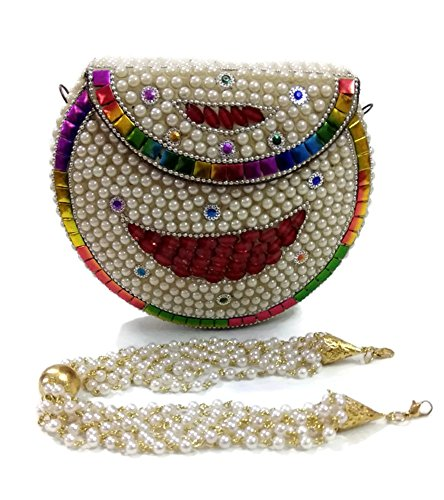 multicolore Pochette femme Trend Overseas multicolore pour wBI1Zqx
