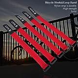 5Pcs Bike Hook and Loop Fastening Straps Nylon