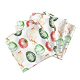 Roostery Vegetables Mexican Tex Mex Salsa Peppers Onion Tomato Organic Sateen Dinner Napkins Tex Mex Night by Peacoquettedesigns Set of 4 Dinner Napkins