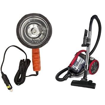 Black and Decker BDSL300 Foco Halógeno Cuarzo, 12V DC y Polti Forzaspira C110 - Aspirador ciclónico sin bolsa potente de 1400W: Amazon.es: Coche y moto