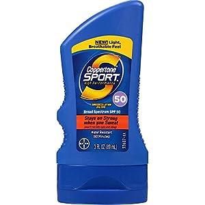 Coppertone Sport Sunscreen SPF 50 3 oz