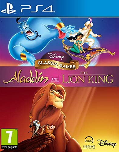 Disney Classic Games : Aladdin and The Lion King - PS4 | nighthawk interactive. Programmeur