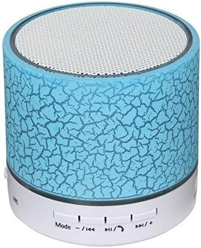 Mini Altavoz Bluetooth inalámbrico Sudroid, USB, subwoofer, micrófono, soporte para tarjeta TF, color azul