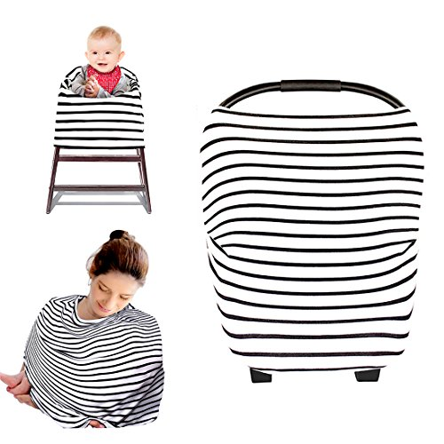 Best Buy! Kyapoo Nursing Breastfeeding Cover Multi Use Scarf Baby Car Seat Canopy Infinity Stretchy ...