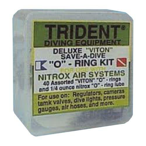 Deluxe 'Viton' Save-A-Dive O-Ring Kit Nitrox Air ()