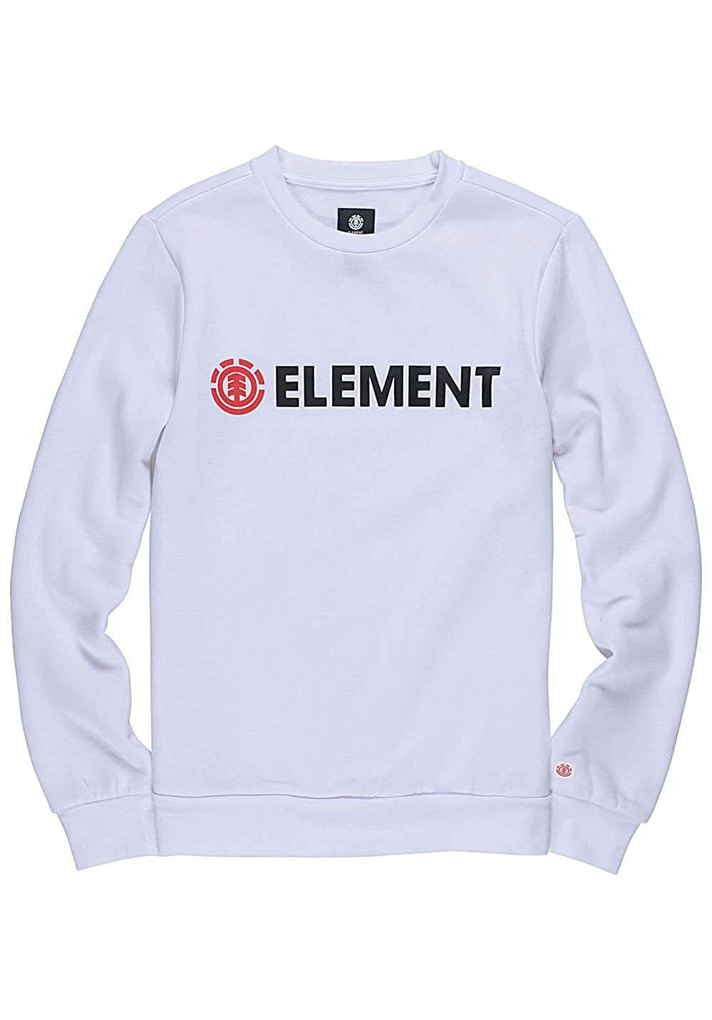 TALLA L. ELEMENT Sudadera Blazin Crew Optic White