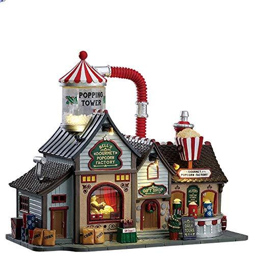 Lemax Popcorn Ball Plant Village Building Multicolored Porcelain, Multi Color