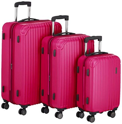 Hauptstadtkoffer Set di valigie, rosso (rosa) - 82861008
