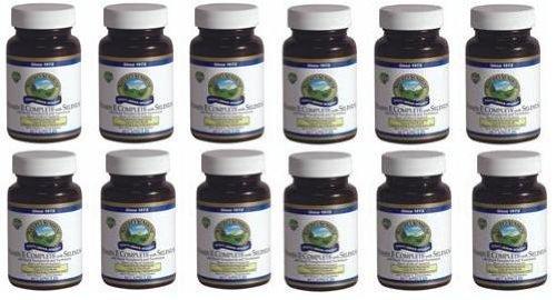 Naturessunshine Витамин Е В комплекте с Селен 400 МЕ Поддержка системы кровообращения 60 мягких капсул (упаковка 12)