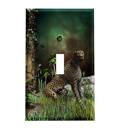 Cheetah Safari Switchplate - Switch Plate ()