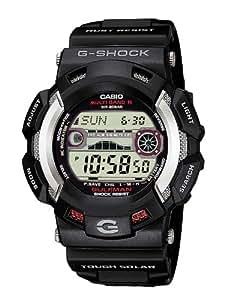 CASIO G-Shock GW-9110-1ER - Reloj de caballero solar y radiocontrolado, correa de resina color negro
