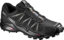 Salomon Men's Speedcross 4 Trail Runner, Black A1u8, 10 M Us
