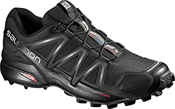 Salomon Men's Speedcross 4 Trail Runner, Black A1u8, 10 M Us 0