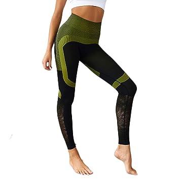 Baiomawzh Pantalones Yoga Mujeres Leggings Largos para Damas ...