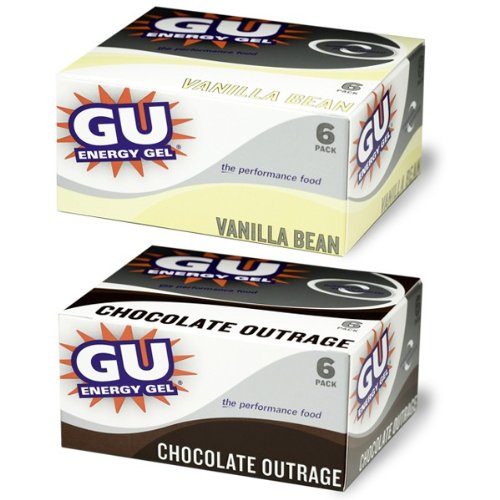 GU Energy Gel, 6-Pack Espresso Love