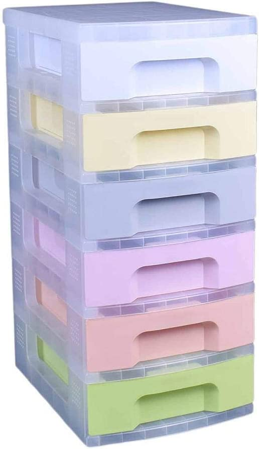 Really Useful Storage Drawer Unit Pastel 8 x 0.8 Litre