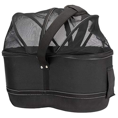 TRIXIE 13111 Bicycle Basket for Narrow Pannier Rack