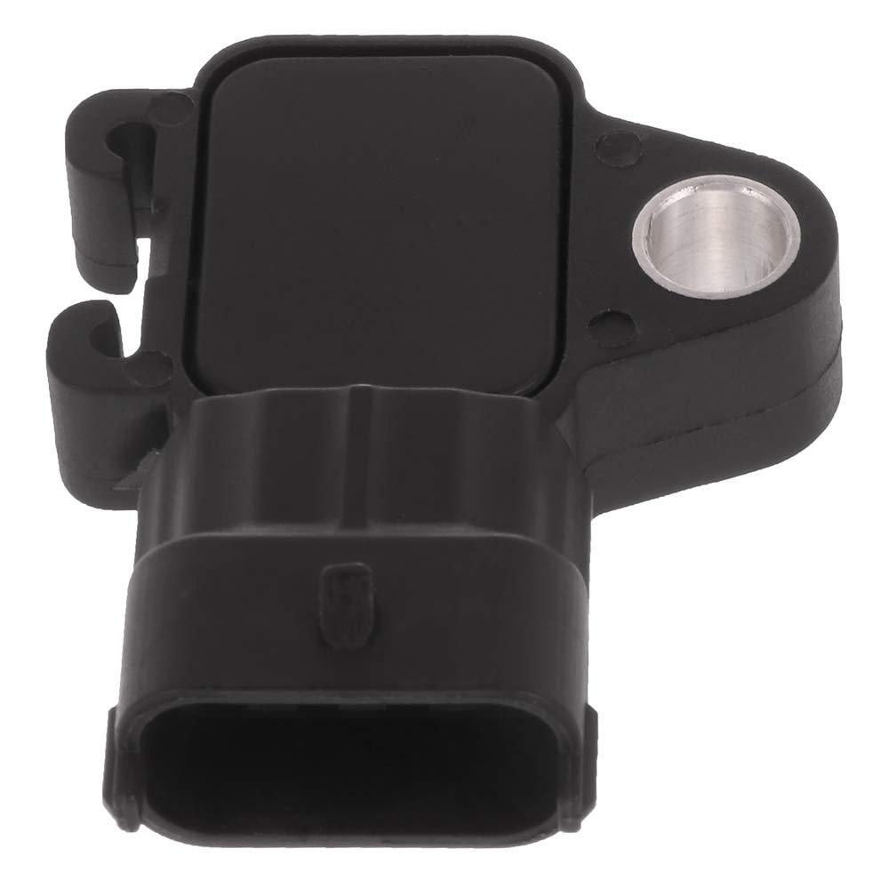 OCPTY Manifold Absolute Pressure Sensor Fits 2012-2013 Chevrolet Sonic 2009-2013 Chevrolet Suburban 1500 2500 2008-2013 Chevrolet Tahoe 2008-2009 Chevrolet Trailblazer AS394 MAP Sensor