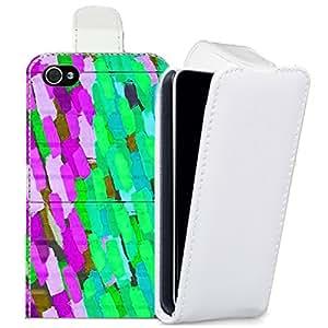 Piel sintética estampada pictoral para apple iphone 6Plus & 6S Plus ladrillo