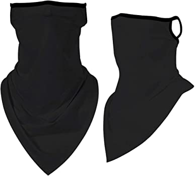 Grey Axgo 1 Pack-Lightweight Thin Neck Gaiter Protection Face Mask for Outdoor Sport