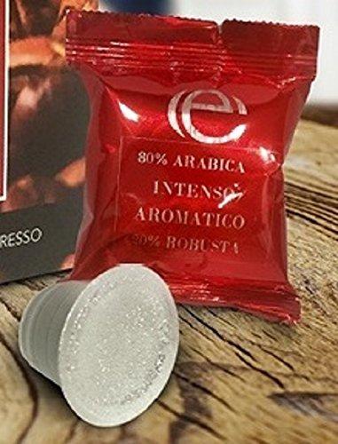 Kimbo - 100 x Cápsulas de café intenso aromático - Compatibles con ...