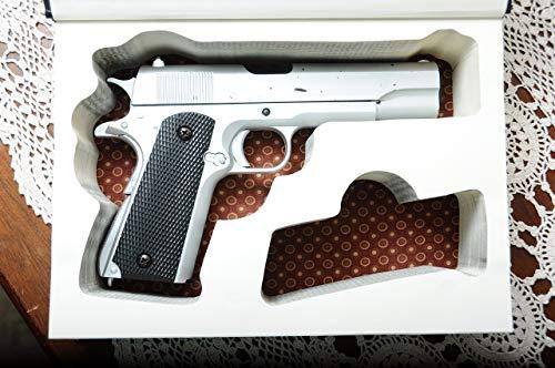 "Concealed Storage Book Safe for 1911 Guns - w/extra magazine slot - Custom-made to Fit 9mm and .45 Kimber, Colt, Springfield, Browning, Ruger, Sig Sauer models - 4.25"" 5"" barrels"