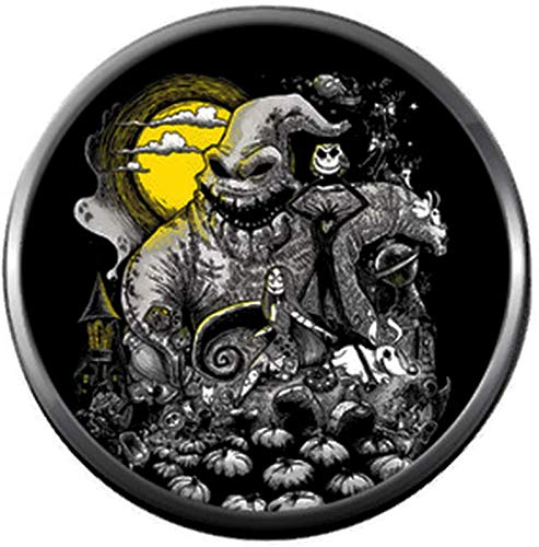 Oogie Boogie Moon Halloween Town Nightmare Before Christmas Jack Skellington 18MM - 20MM Charm for Snap Jewelry