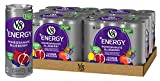 v8 fusion energy drink - V8 +Energy, Juice Drink with Green Tea, Pomegranate Blueberry, 8 oz. Can (4 packs of 6, Total of 24)