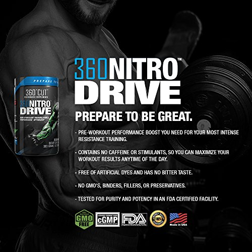 360Cut Nitro Drive
