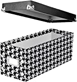 "Snap-N-Store CD Storage Box, 13.25"" x 5.125"" x"