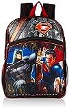Warner Brothers Boys' Batman Vs. Superman Backpack, Grey/Black