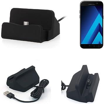 K-S-Trade Dock USB para el Samsung Galaxy A5 (2017), Negro ...