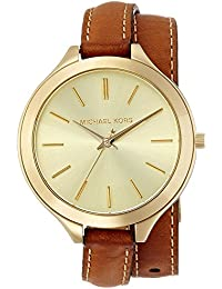 Womens Runway Brown Watch MK2256