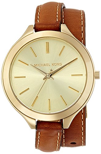 Michael Kors Women's Runway Brown Watch MK2256 ()