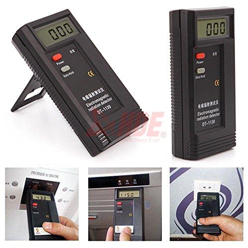 LCD Digital Electromagnetic Radiation Detector EMF Meter Dosimeter Tester Tool from New Unbrand