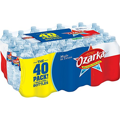 Ozarka 100% Natural Spring Water (16.9 fl. oz. bottles, 40 pk.) - (Original from manufacturer - Bulk Discount available)
