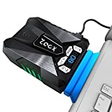 Zacx Laptop Cooler with Temperature and Rotational Speed Display,Auto-Temp Detection and Rotational Speed Control, Noise Reduction Technology