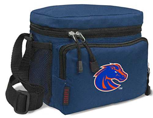 Boise State Broncos Lunch Bag NCAA Boise State University Lunchboxes by Broad Bay