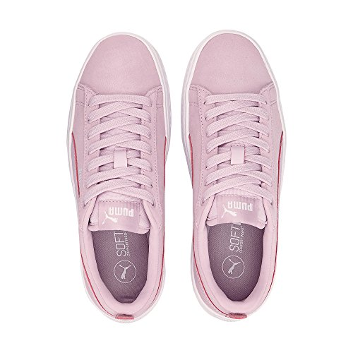 Puma Women's Smash Platform Sd Trainers, Dusty Coral-Pomegranate 05 Pink (Winsome Orchid-winsome Orchid 06)